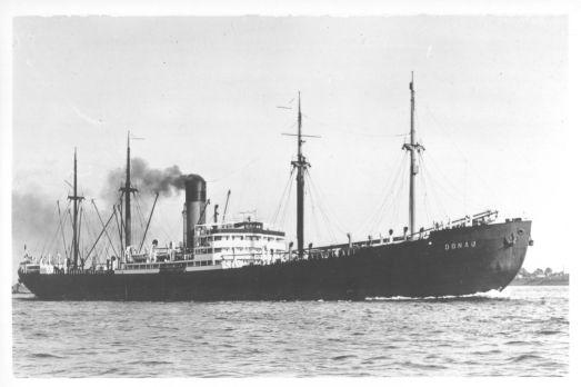 Dette skipet ble brukt  til å frakte jøder